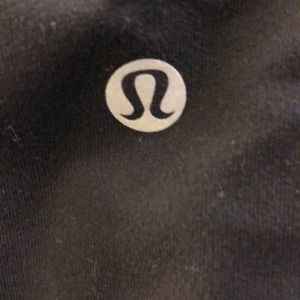 lululemon athletica Pants - Lululemon black braided crop legging, sz 4, 69028